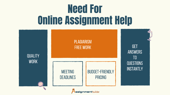 need for online assignment help
