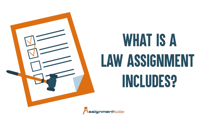 What is a Law Assignment Includes