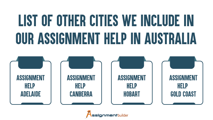 List of Other Cities We Include in Our Assignment Help in Australia