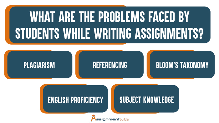 What are the Problems Faced by Students While Writing Assignments