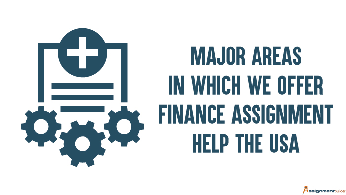 Major Areas in Which We Offer Finance Assignment Help The USA
