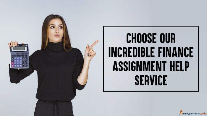 Choose Our Incredible Finance Assignment Help Service