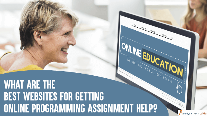 What are the Best Websites for Getting Online Programming Assignment Help