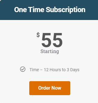 One  Assignment Subscription (Masters)
